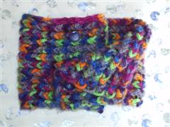 Cowl Chunky Button