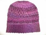 purple alpine beanie
