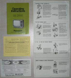 Panasonic Tv Model Th-50ds610u Manual