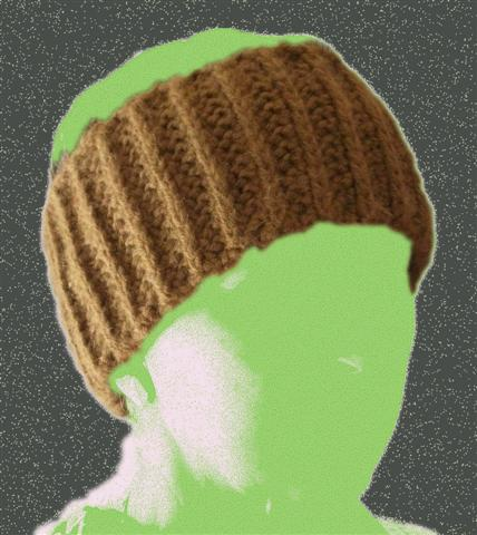 Brown Sugar Ribbed Double Thick Crochet Headband Men Women « Blue ... d7cedf1f005