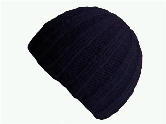 f4ebcdb6f98 ... sale navy blue double ribbed knit beanie hat 23a3e 420e6