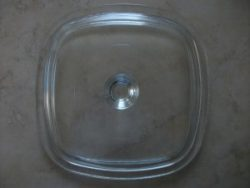 Corning Pyrex Glass Casserole Lid
