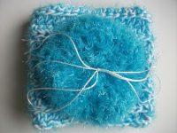 scrubby scrubbies sparkle dishcloth red gray blue purple orange