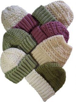 Handmade, Knit, Crocheted, Hats, Beanies, Headbands, Head Wraps - Women, Teens, Girls, Babies
