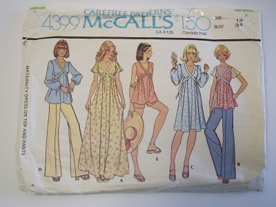 McCalls-4399-sewing-pattern-maternity-top-dress-pants-shorts-web