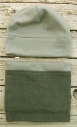 gray-metal-green-fleece-hat-beanie-gaiter
