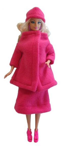 barbie-pink-suit-fitted-hat