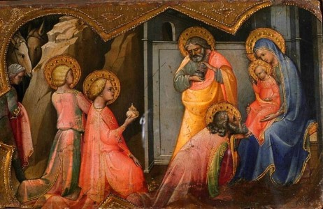 Predella Panel - The Adoration of the Magi